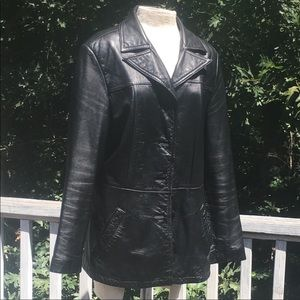 MAXIMA by Wilson's Leather black jacket